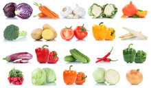 Collection Of Vegetables Tomat...