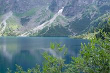 Krajobraz Górski Jezioro Morskie Oko Tatry