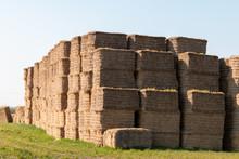 Straw Bales, Hay Stack