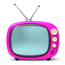 Old Tv Cartoon 3d