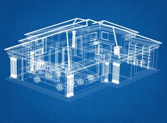 Big House Design blueprint