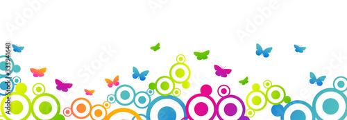Fényképezés grafica, primavera, fiori, farfalle