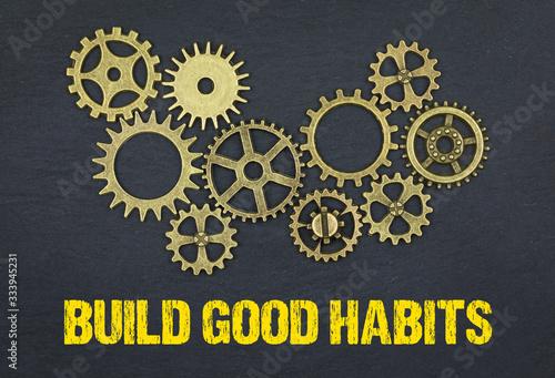 Fototapeta Build good habits