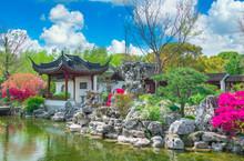 Garden Scenery Of Guyi Garden, Shanghai, China