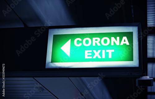 Foto Corona Exit Strategie - Langsam alles wieder Hochfahren