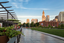 Rose Kennedy Greenway Park In ...