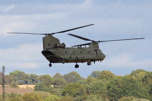 Photo Chinook Helicopter