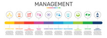 Management Infographics Vector...