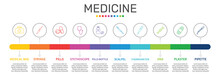Medicine Infographics Vector D...