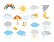 Weather Meteorology Icon Eleme...