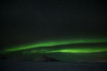 Polarlicht über Den Lofoten -.