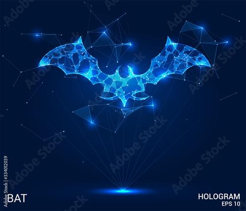 Fotografia A hologram of a bat
