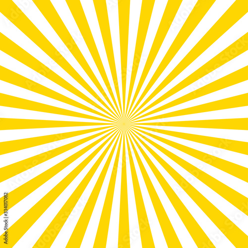 Tablou Canvas Sunburst pattern vector background