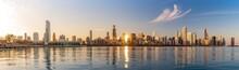 Panorama Chicago Downtown Skyl...