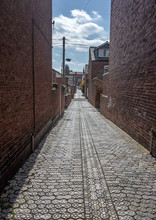Cobbled Alleyway In York