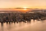 Fototapeta Nowy Jork - zachód słońca