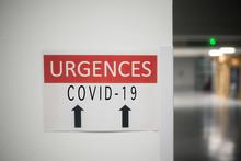 Closeup Of French Hospital Eme...