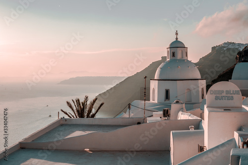 Fototapeta Santorini - Oia  obraz