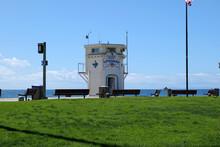 Lifeguard Tower At Laguna Beach