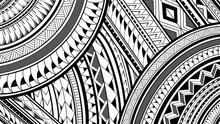 8K Maori Polynesian Pattern De...