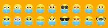 Corona Virus Face Mask Emoji S...