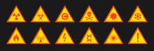 Triangular Signs Of A Hazard W...