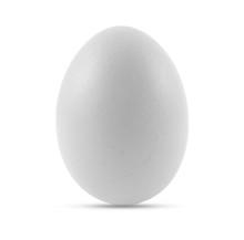 Single White Chicken Egg Or Ea...