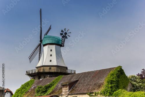 Photo Windmill Amanda in the historic center of Kappeln, Germany