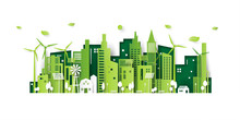 Ecology Concept With Green Eco...