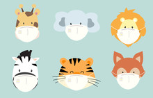 Cute Animal Object Collection ...