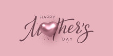Happy Mothers Day Typography D...