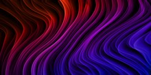 Abstract Colorful Lines Wavy F...
