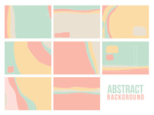 Abstract Universal Art Texture, Web Header Template. Collage Page, Design For Card, Invitation, Brochure Brush Strokes Style, Banner Idea, Book Cover, Booklet Print, Flyer Sheet A4