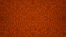 Modern Mandala Background With Ethnic Floral Pattern Seamless