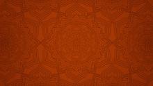 Modern Mandala Background With...