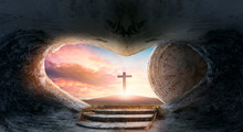 Easter Concept: Empty Tomb Of ...