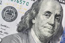 Texture Of Dollar Bills. One H...