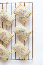 Homemade Pop Tarts On A Grate....