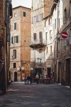 Street In Old Town, Sienna, It...