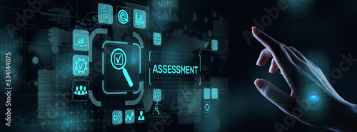 Photo Assessment analysis Business analytics evaluation measure technology concept