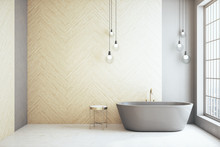 Minimalistic  Loft Bathroom Wi...