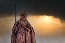 Denkmal Karl Der Große In Frankfurt