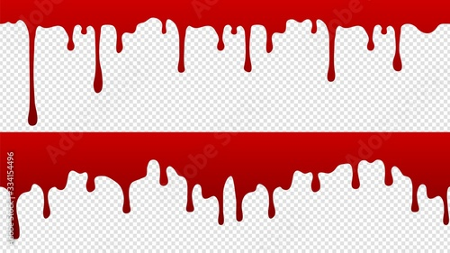 Stampa su Tela Dripping blood pattern