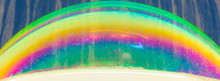 Rainbow Colors Created By Soap...
