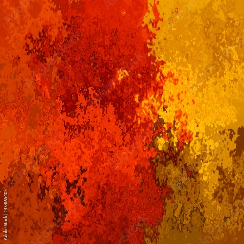 Fotografie, Tablou abstract stained pattern texture square background vibrant color - modern painti