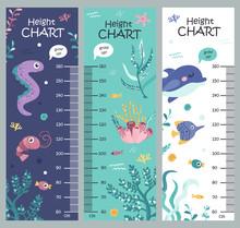 Kids Height Chart With Seaweed...