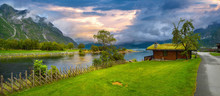 Eidfjord River With Fishing H...