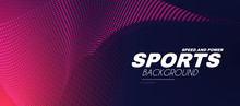 Abstract Sport Background With...