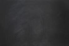 Empty Black Chalkboard Backgro...