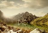 Staw Morskie Oko w Tatrach, Polska